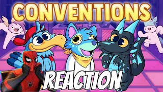 COSPLAYER REACTS: Conventions (I miss them)