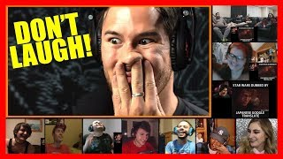 Markiplier - Try Not To Laugh Challenge #16 REACTION MASHUP