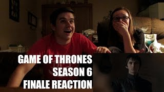 GAME OF THRONES SEASON 6 FINALE REACTION!! | LEXI AND TANNER