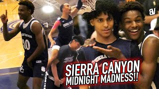 Sierra Canyon MIDNIGHT MADNESS 2019 Was COMEDY! Dunk Contest, Musical Chairs, Challenges & MORE!