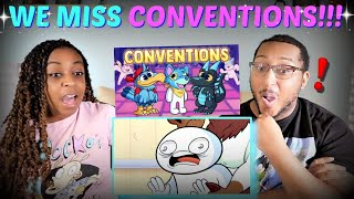 "TheOdd1sOut ""Conventions (I Miss Them)"" REACTION!!!"
