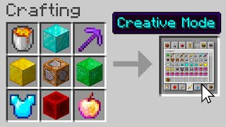 Minecraft, But You Can Craft Any Gamemode...