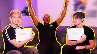 WHO KNOWS WHO BETTER BEST FRIEND CHALLENGE w/ Sam and Colby
