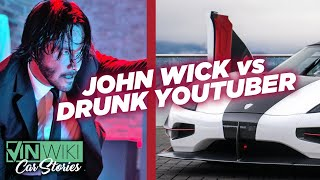 What happens when Keanu Reeves meets a drunk car YouTuber?