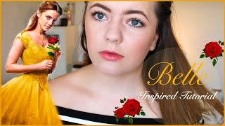Belle Inspired Makeup Look | April Williams