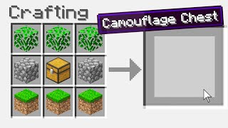 Crafting New Chests In Minecraft!