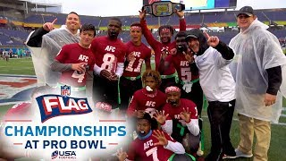 Flag Football Highlights from NFL FLAG at the 2019 Pro Bowl