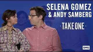 Selena Gomez & Andy Samberg - Take One on Hotel Transylvania 3