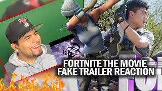 SO FIRE! Fortnite The Movie (Official Fake Trailer) REACTION