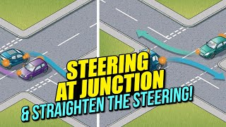 Steering at Junction & Straighten the Steering!