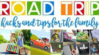 🚗FAMILY ROAD TRIP HACKS🚗