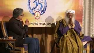 Ancient Wisdom in Modern Times - Deepak Chopra and Sadhguru, moderated by Ms. Chandrika Tandon