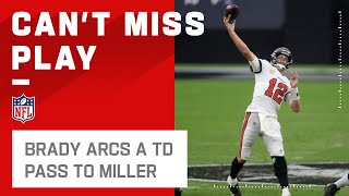 Tom Brady Heaves 33-Yd TD to Scotty Miller