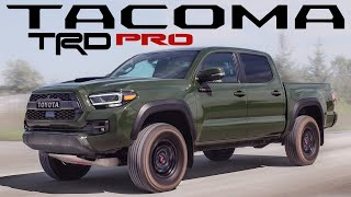 Now The BEST Midsize Truck? 2020 Toyota Tacoma TRD PRO Review