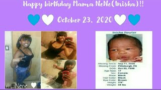 Kenneka JENKINS: 💜🌸 Ne-Ne's REAL birthday (October 23) Happy Birthday Inisha!! (Revelation 12) 🌸💜