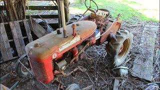74 year old vintage tractor left in a barn for 20 years... Will it start??