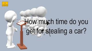 How Much Time Do You Get For Stealing A Car?