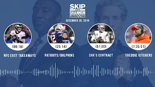 NFC East takeaways, Patriots/Dolphins, Dak's contract, Freddie Kitchens | UNDISPUTED Audio Podcast