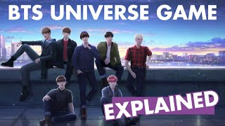 BTS UNIVERSE STORY GAME TRAILER EXPLAINED [THEORY, NOTES + DISCUSSION]