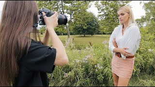 Outdoor Portrait Photography Tutorial - How I take photos outside