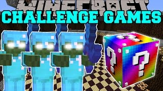 Minecraft: BOB FAMILY CHALLENGE GAMES - Lucky Block Mod - Modded Mini-Game