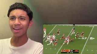 LETS GO CHUBB!! Bengals vs. Browns Week 2 Highlights REACTION!!