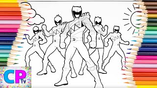 Power Rangers Dino Charge Coloring Pages,Power Rangers Ready for Action,Coloring Pages Tv