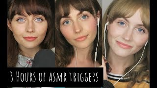 [ASMR] 3 hours of intense triggers for sleep