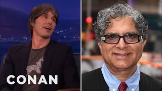 Professor Brian Cox Enraged Deepak Chopra  - CONAN on TBS