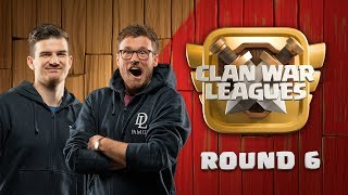 Clash of Clans UPDATE - Clan War Leagues - Halloween Special - Round 6