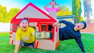 LAST TO LEAVE THE BOXFORT WINS $10,000 DOLLARS!!