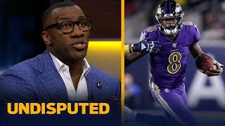 Lamar Jackson has 'stranglehold' on NFL MVP after win last night — Shannon Sharpe | NFL | UNDISPUTED
