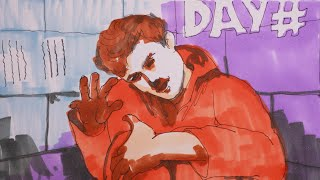 I Spent 50 hours in solitary confinement, He is #MrBeast#ink pen#marker