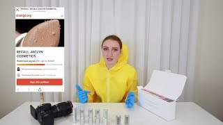 a biochemist EXPOSED jaclyn hill