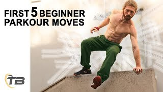 First 5 Beginner Parkour Moves - How To Get Started In Parkour - Ask The Tapps