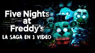 Five Nights at Freddy's : La Saga en 1 Video (Especial Halloween)