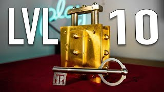 Solving THE HARDEST Lock Puzzle in HISTORY!! - LEVEL 10
