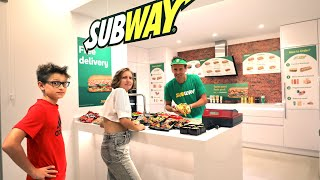 He Opened a Subway Restaurant in Our House!!!