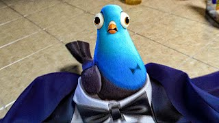 Will Smith Transforms Into A Pigeon Extended Scene - SPIES IN DISGUISE (2019) Movie Clip