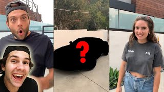 David Dobrik Buys a Brand New Car | Dr. Phil at David Dobrik's House - Vlog Squad IG Stories 60