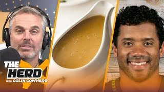 Colin Cowherd compares Thanksgiving foods to NFL Quarterbacks | NFL | THE HERD