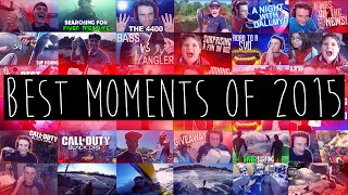 BEST MOMENTS OF 2015! | DALLMYD