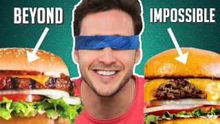 Doctor Reviews Meatless Burgers | Impossible, Beyond & More!