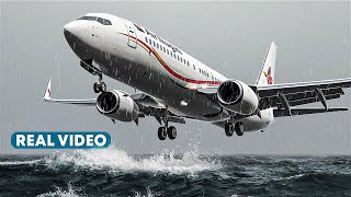 How these Pilots Crashed a Boeing 737 into the Sea Before Touchdown (With Real Video)