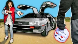 PROJECT ZORGO FACE REVEAL & TESTING HACKER PROOF DELOREAN (Found New Evidence on Abandoned Tesla)