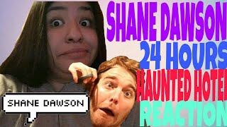 Shane Dawson 24 Hours Overnight In A Haunted Hotel | REACTION