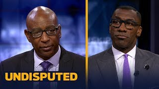 Eric Dickerson and Shannon Sharpe talk TO skipping his HOF induction | NFL | UNDISPUTED
