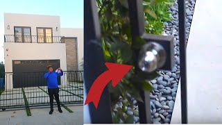 JAKE PAUL'S GATE WAS OPEN! (Sneaking inside The Old Team 10 House)