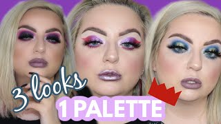 3 LOOKS 1 PALETTE | JEFFREE STAR BLOOD LUST PALETTE