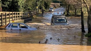 Rufford Ford || Vehicles vs DEEP water compilation || #11